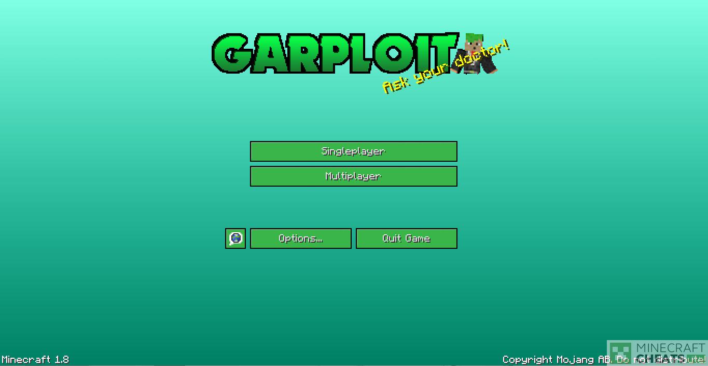 Главное меню в чите GarPloit