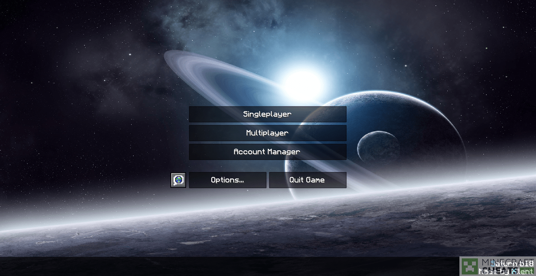 Главное меню в чите Saturn