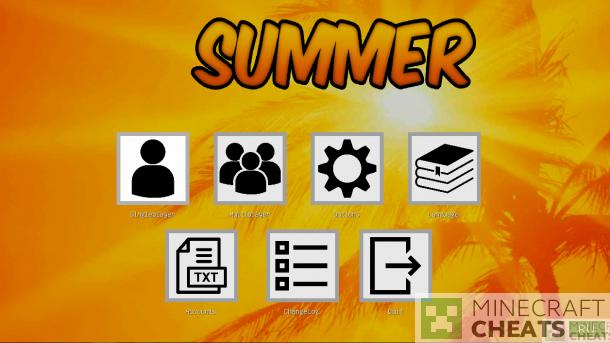 Чит Summer b11 на Майнкрафт 1.8