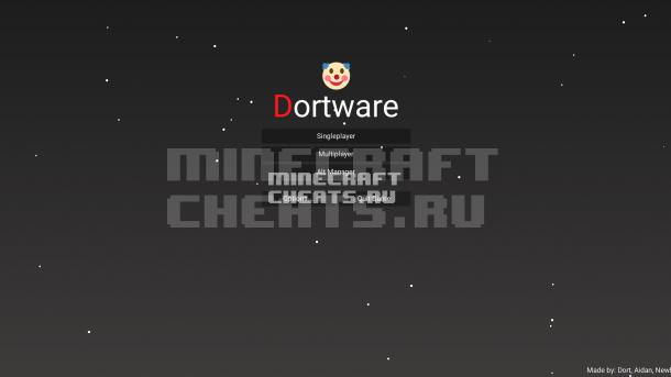 Чит Dortware 1.2.1 на Майнкрафт 1.8