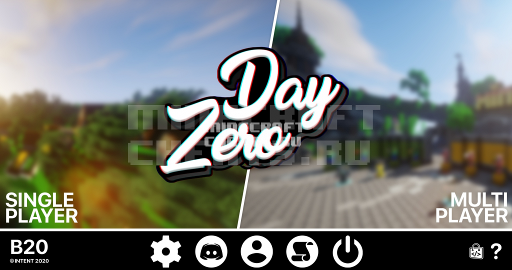 Чит ZeroDay b20.6 на Майнкрафт 1.8